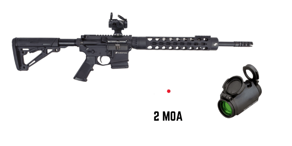 jp15 with aimpoint micro t2