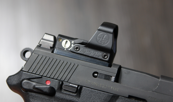 leupold deltapoint pro fnx 45 tactical