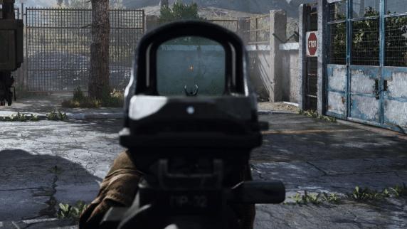operator reflex sight cod pov