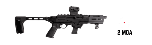 ruger 9mm pistol carbine with sig romeo 5