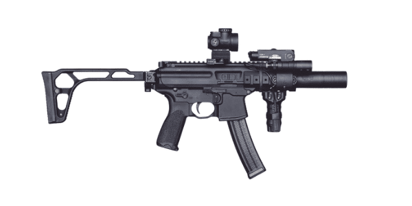 sig mpx with trijicon mro