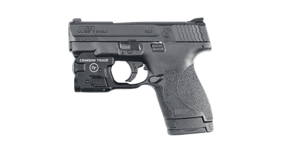 smith wesson shield 9mm with crimson trace