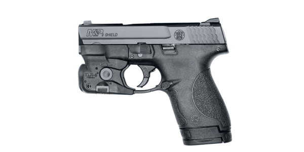smith wesson shield 9mm with streamlight tlr 6 light