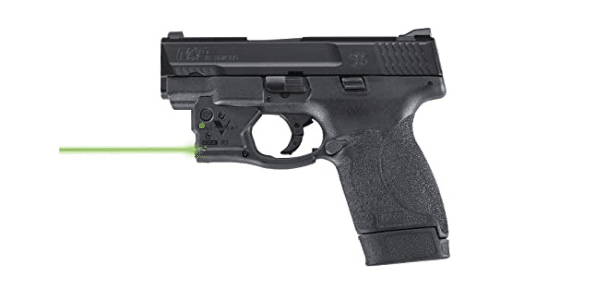smith wesson shield with viridian reactor green laser