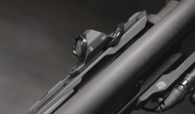unity tactical hotbutton on benelli m4