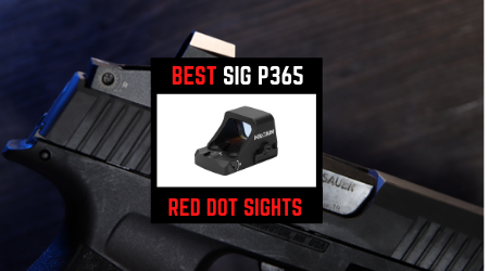 Read more about the article 4 Best Sig Sauer P365 Red Dot Sights [Hottest Selling 2021]