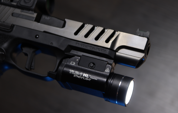 fn 509 with streamlight tlr 1 hl pistol light